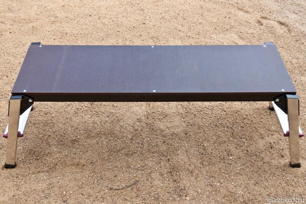 Алюминиевый универсальный складной борт Krause Corda 021243