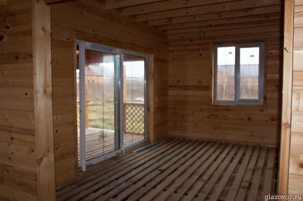 комната с террасой