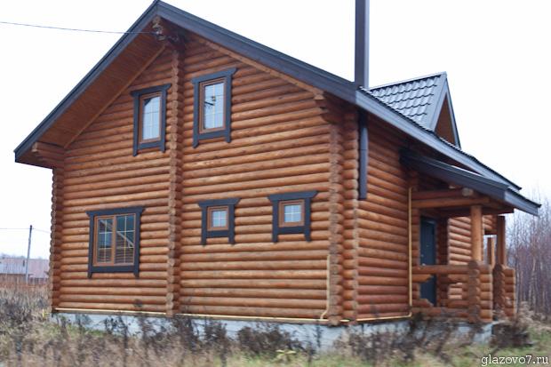 брусовый дом