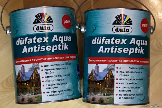 антисептик dufatex Aqua Antiseptik