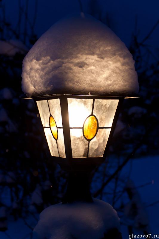 освещение дачного участка