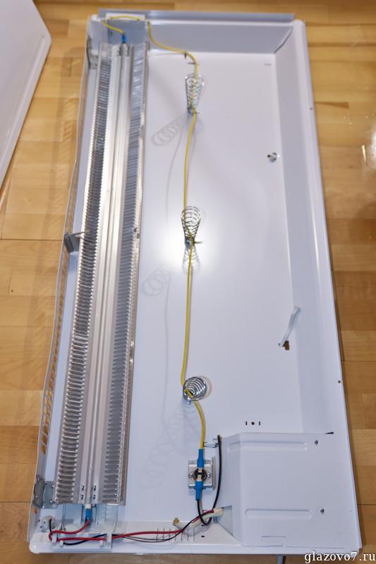 как устроен конвектор Electrolux ECH/L-1500