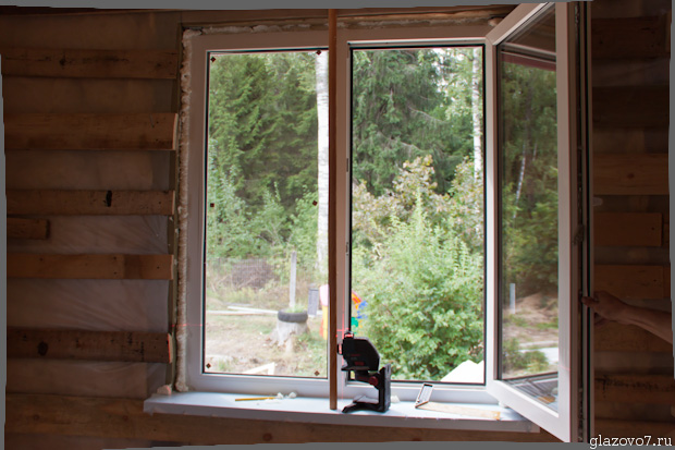 кривое пластиковое окно