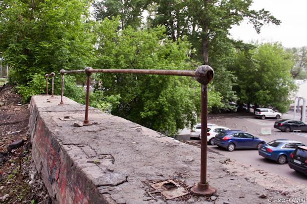 старые московские заборчики